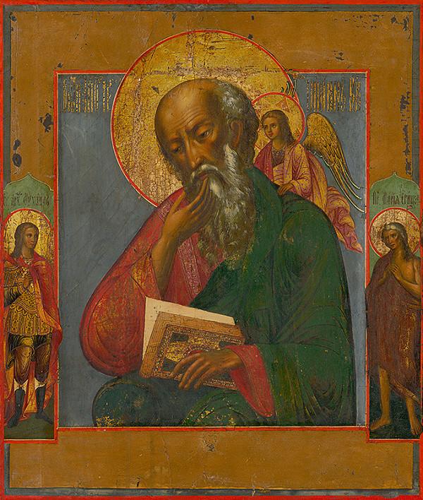 Ruský ikonopisec – Svätý Ján Evanjelista