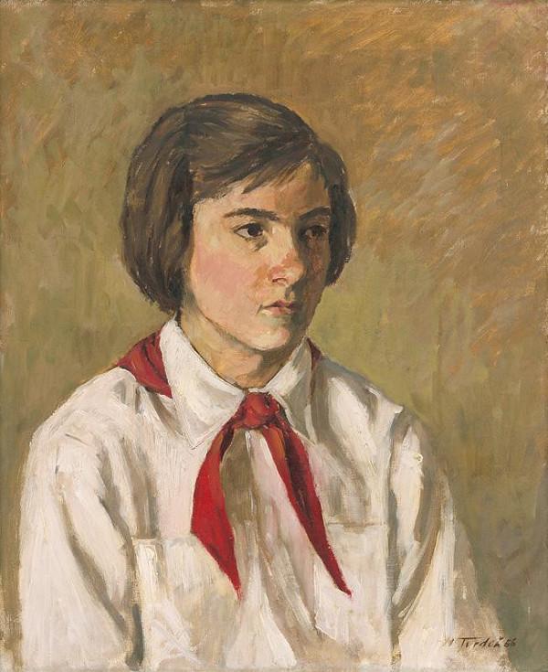 Martin Tvrdoň - Portrét pionierky