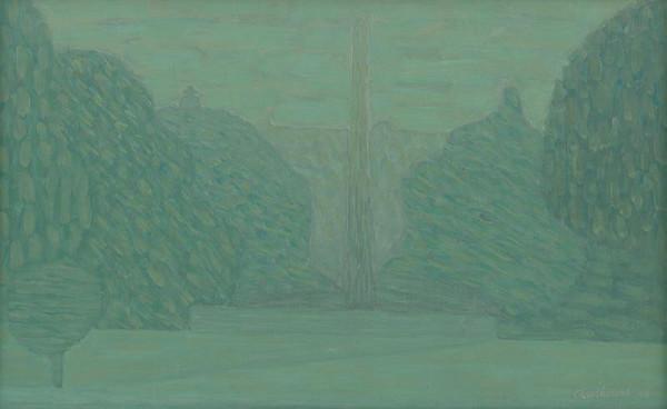 Serge Charchoune - Zelená krajina