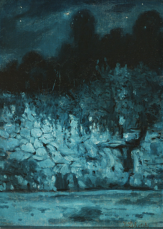 Karol Miloslav Lehotský – Večerná krajina