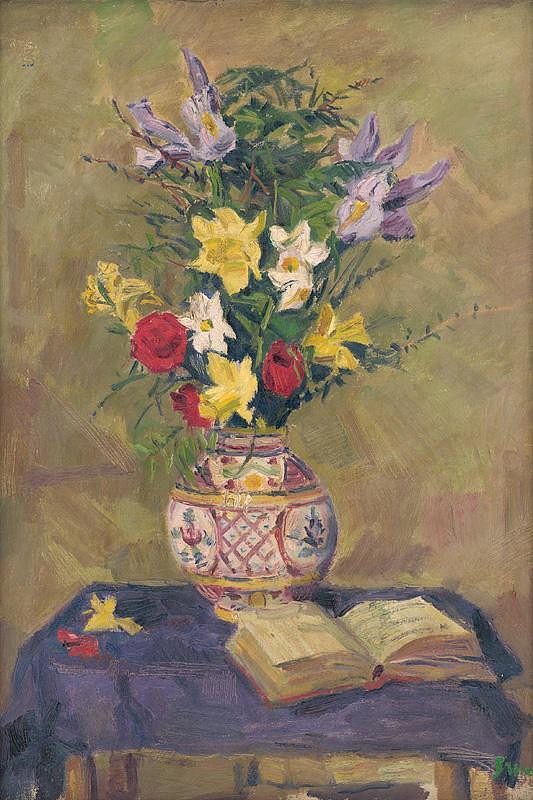 Gustáv Mallý – Kvety