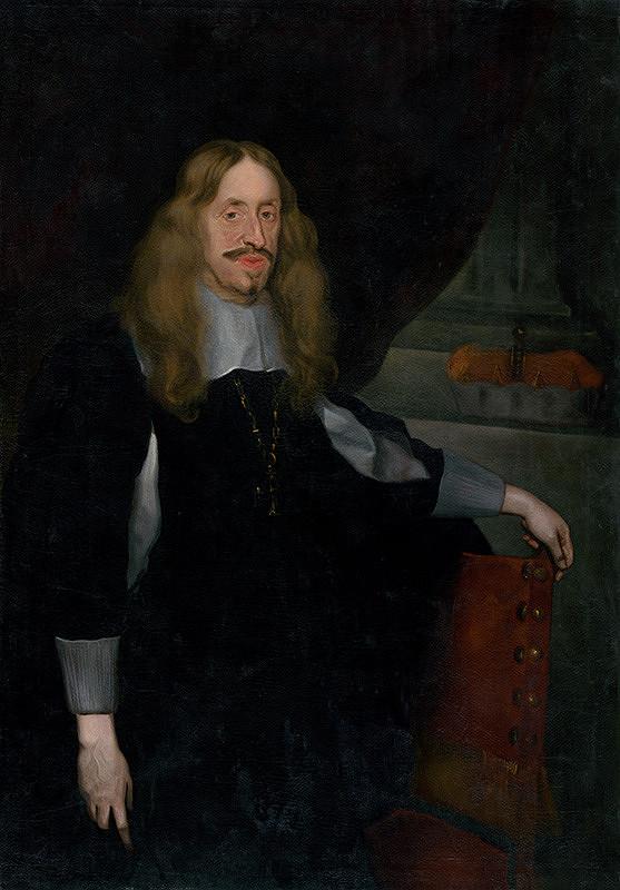 Nemecký maliar, Západoeurópsky maliar z konca 17. storočia – Portrét arcivojvodu Leopolda Williama