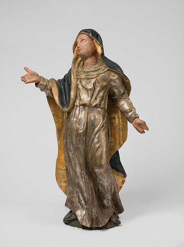 Slovenský rezbár z 1. polovice 18. storočia, Neznámy rezbár - Panna Mária