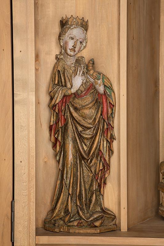 Slovenský rezbár zo začiatku 15. storočia, Majster Madony z Lomničky - Svätá Margita-Antiochijská