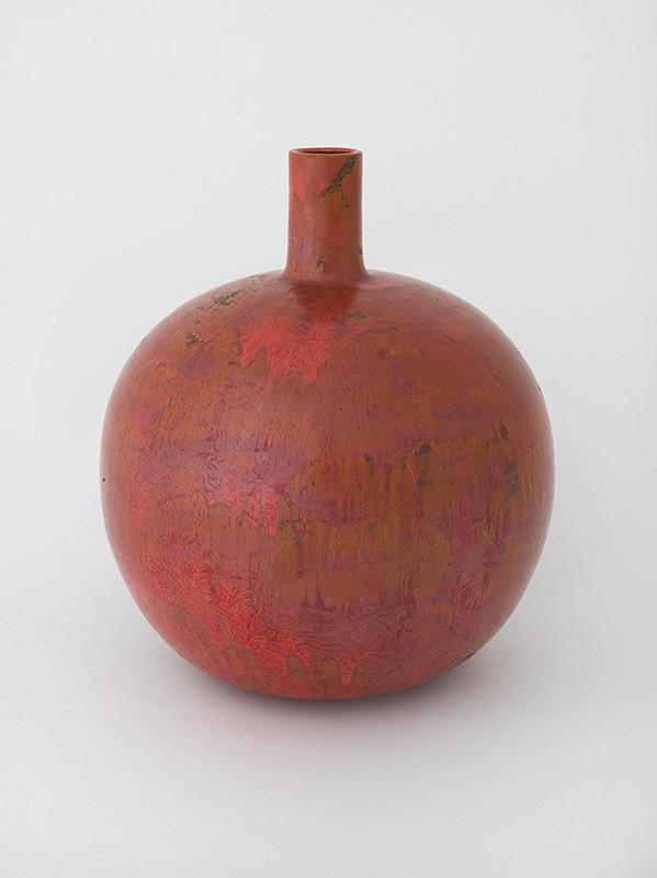 Dagmar Rosůlková – Váza červená - guľa