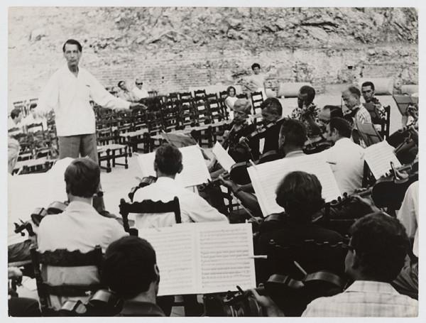 Pavol Breier st. – Reportáž zo zájazdu Slovenskej filharmónie na Sicíliu. Dr. Ľudovít Rajter