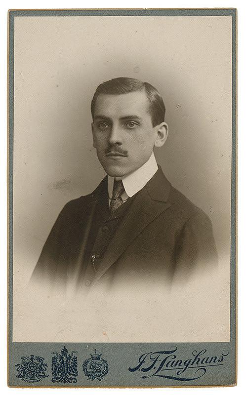 J. F. Langhans - Portrét muža