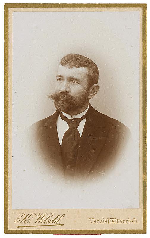 K. Wetschl – Portrét muža