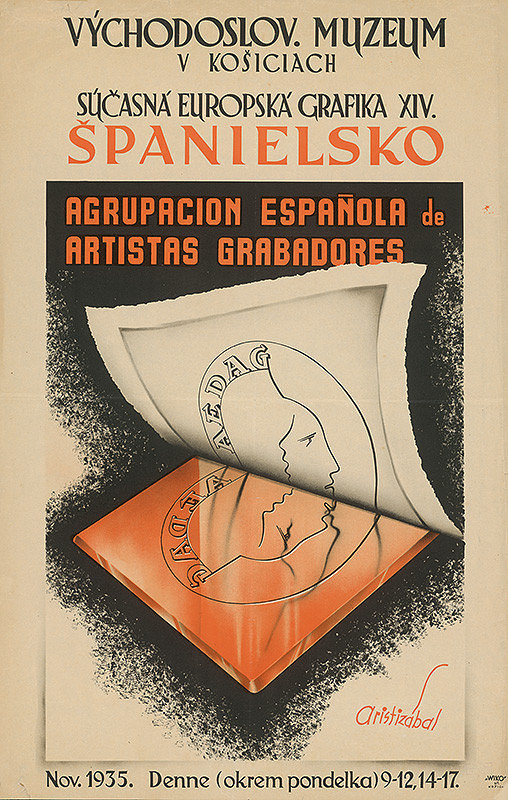 Košický autor – Súčasná európska grafika - Španielsko