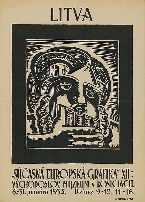 Slovenský autor z 1. polovice 20. storočia – Súčasná európska grafika XII:Litva