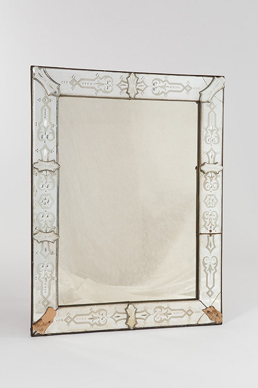 Neznámy remeselník – Benátske zrkadlo