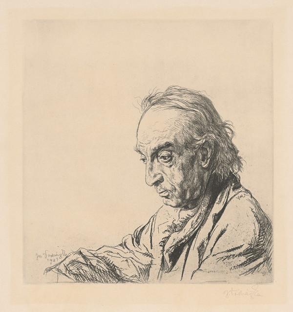 Jaroslav Vodrážka – Hluchý z profilu