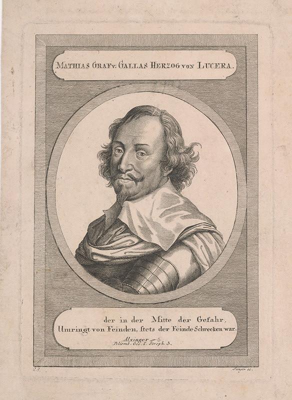Sebastian Langer – Portrét grófa Matiáša Gallasa