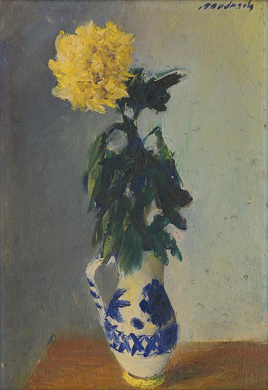 Ján Mudroch – Žltá chryzantéma