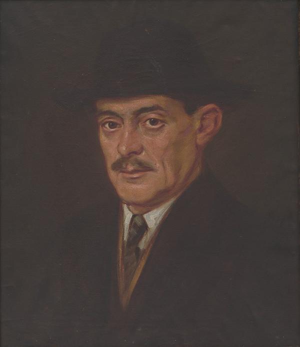 Milan Thomka Mitrovský – Muž v klobúku