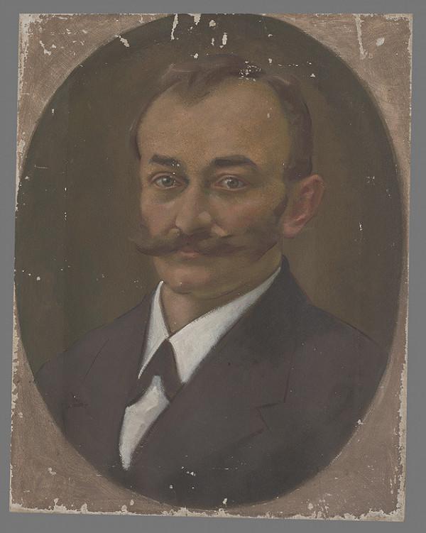Milan Thomka Mitrovský – Portrét muža