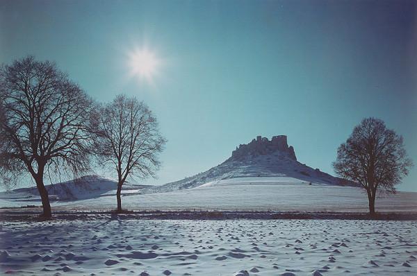 Alexander Jiroušek – Zima pod Spišským hradom