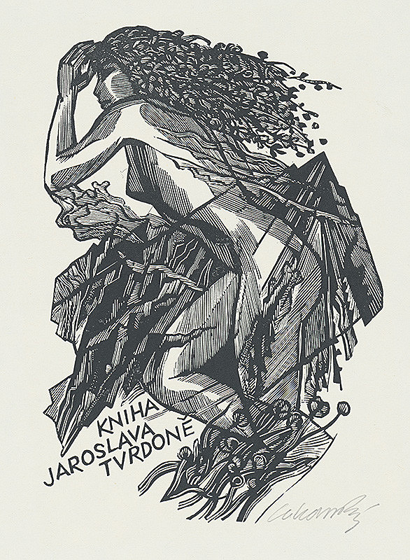 Jaroslav Lukavský – Ex libris Jaroslava Tvrdoňa