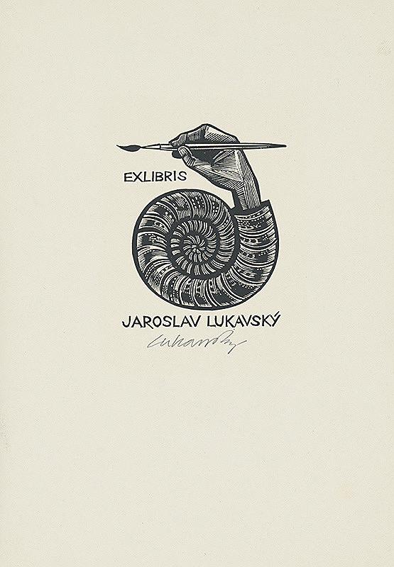 Jaroslav Lukavský – Ex libris Jaroslava Lukavského