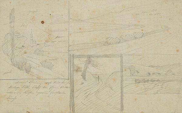 Ferdinand Katona – Kompozičné náčrty krajín