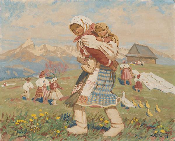 Jan Hála – S dieťaťom