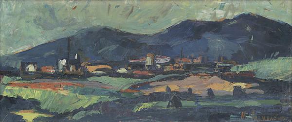 Michal Trembáč - Krajina s továrňou
