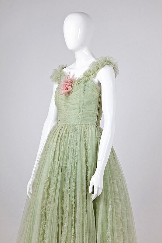 Neznámy autor – Plesové šaty, módne závody Styl, Praha