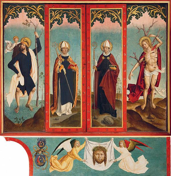 Majster z Okoličného - Oltár sv. Martina a sv. Mikuláša