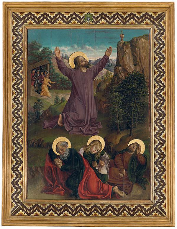 Majster z Hrabušíc - Kristus na Olivovej hore