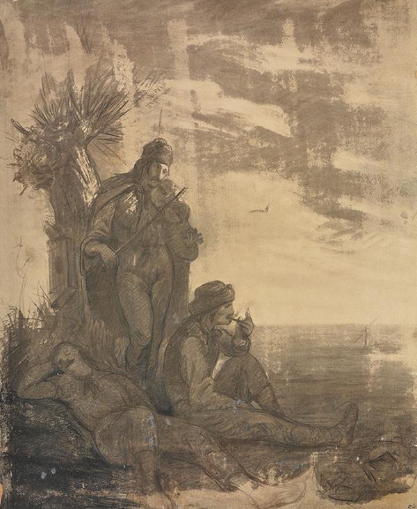 Pál Sziney-Merse – Traja cigáni