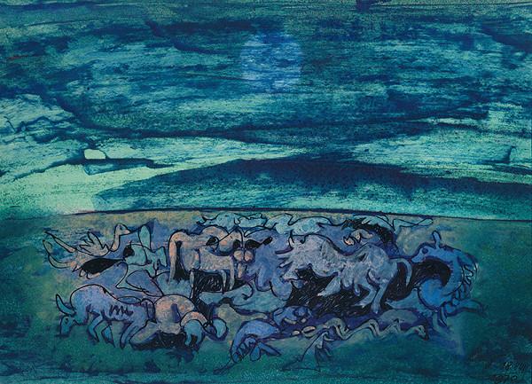 František Veselý - Úzkosť (Noemov koráb)