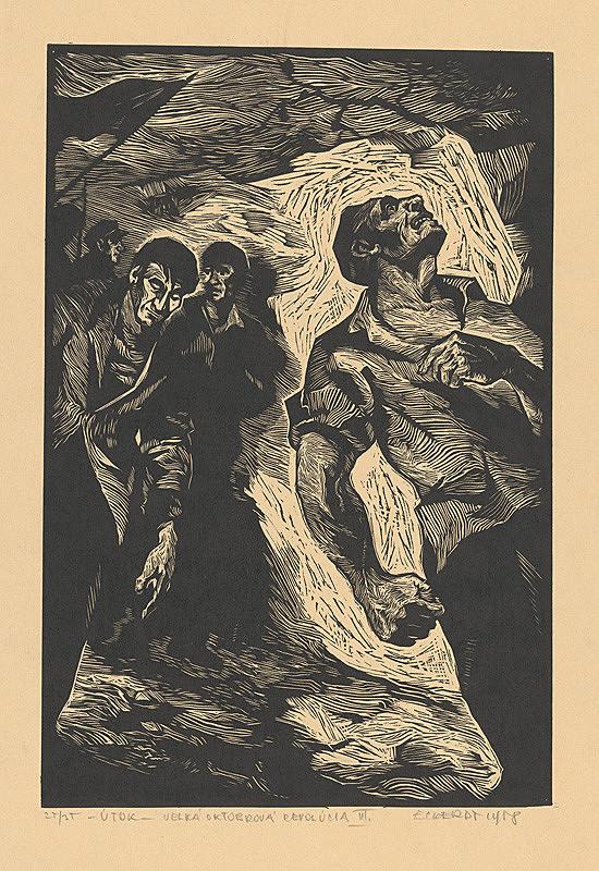 Alexander Eckerdt – Októbrová revolúcia I.
