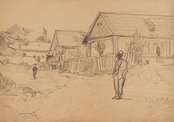 Ernest Rákosi – Dedinská ulička