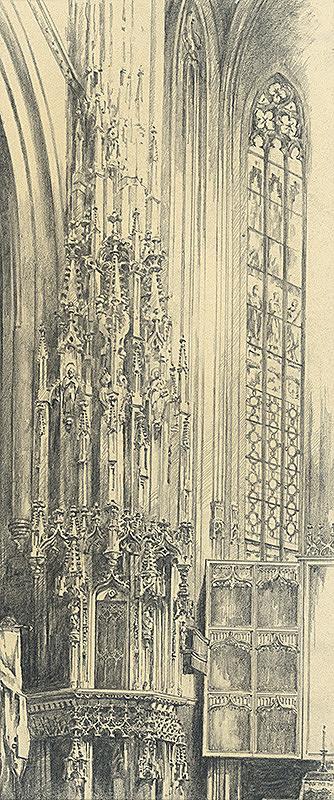 Vojtech Šipoš – Pastofórium v Dóme sv. Alžbety v Košiciach