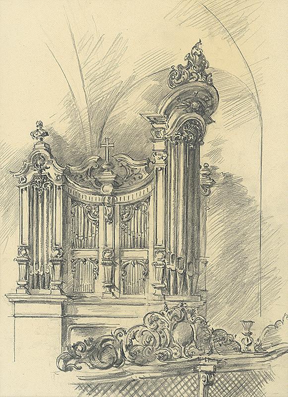 Vojtech Šipoš – Organ v uršulínskom kostole v Košiciach
