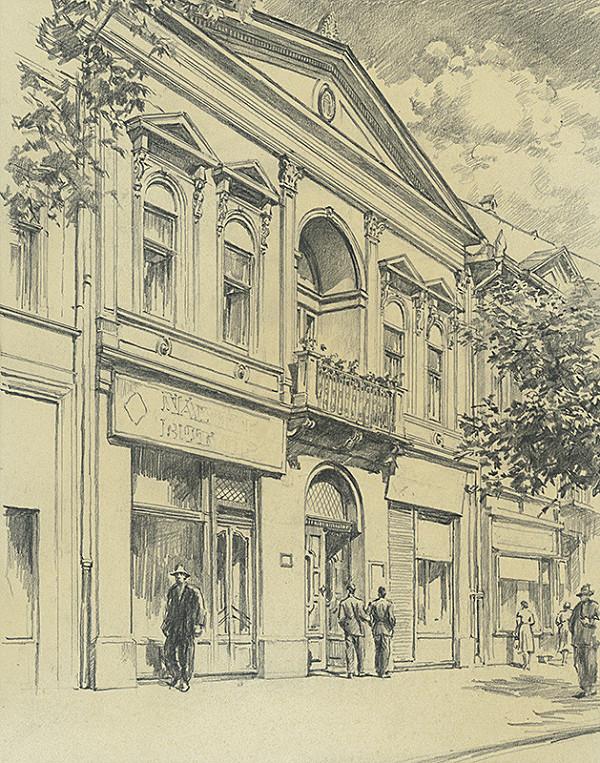 Vojtech Šipoš – Dom na Hlavnej ulici č. 84 v Košiciach