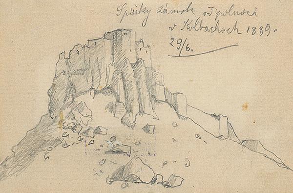 Jozef Hanula – Pohľad na Spišský hrad