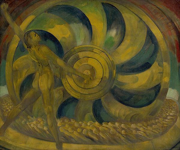 Anton Jasusch - Žltý mlyn