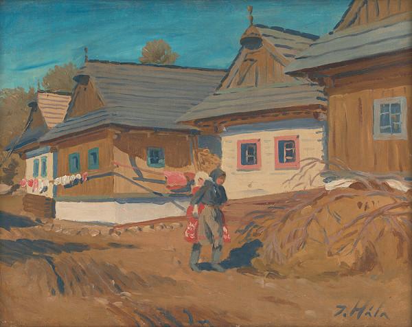 Jan Hála – Záber z Važca