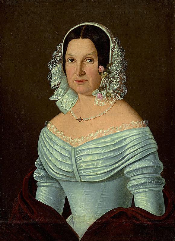 Východoslovenský maliar z 1. polovice 19. storočia – Podobizeň ženy
