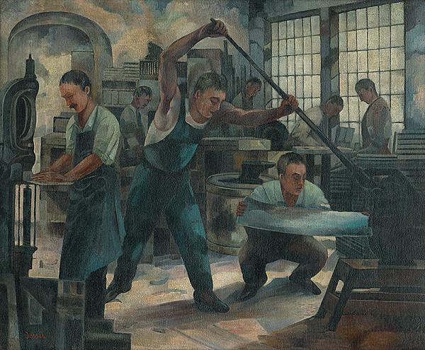 Anton Jasusch – Robotníci