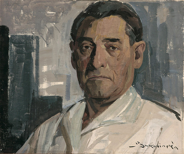 Július Bukovinský - Vlastná podobizeň