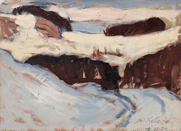 Jozef Kollár – Zima v Štiavnických vrchoch
