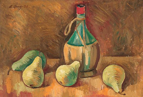 Andrej Gaj – Zátišie s fľašou