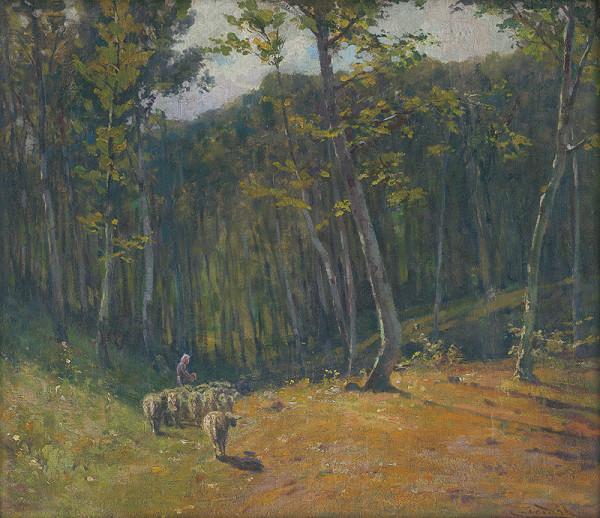 Ľudovít Čordák – Les s ovcami