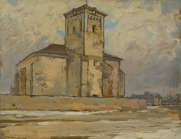Ľudovít Čordák – Kostol v Moldave