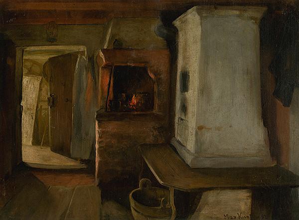Maximilián Kurth – Štúdia k obrazu Návšteva chorej matky