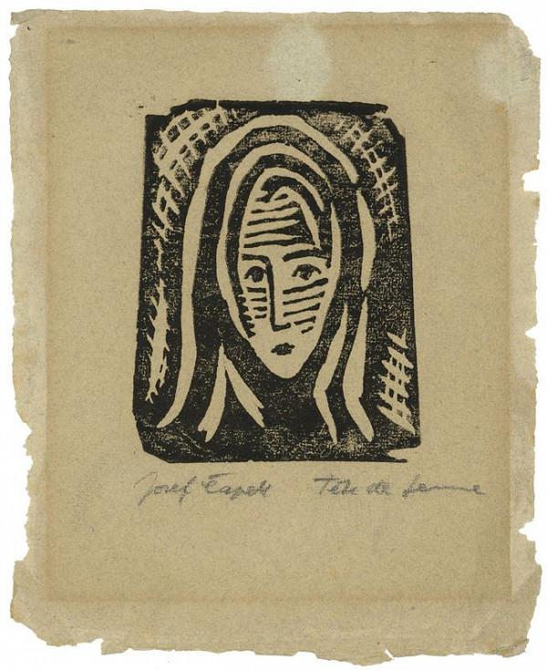 Josef Čapek – Tete de femme