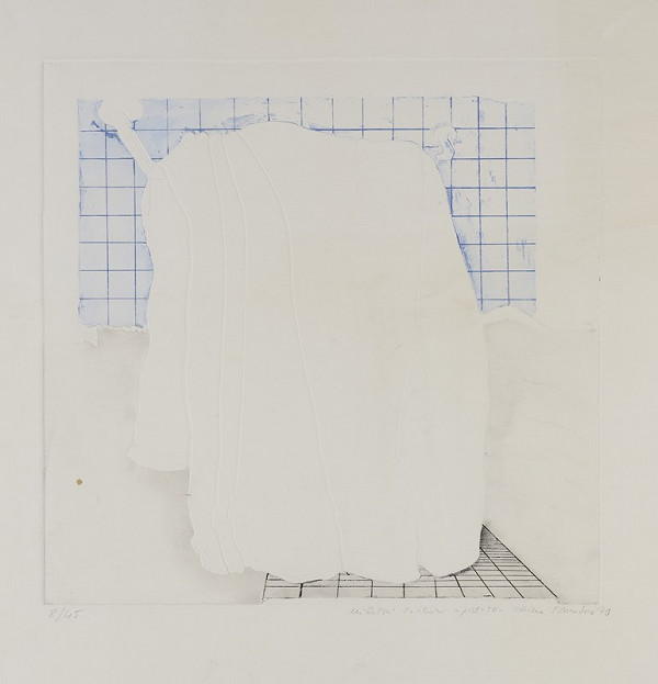 Adriena Šimotová – Bílá draperie