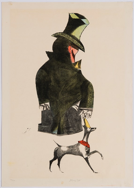 František Tichý – Clown se psem